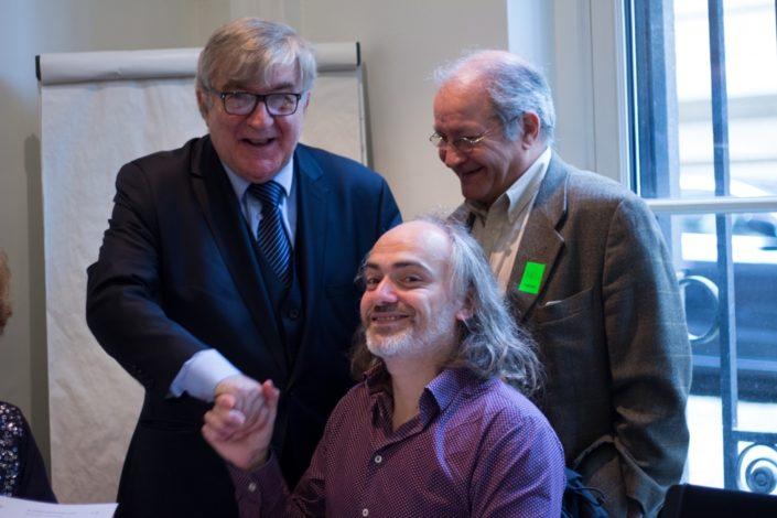 Patrice Mercier, Jean-Marc Muller et Francis Piazza