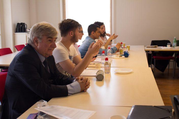 Jean-Marc Muller avec le jury 2017
