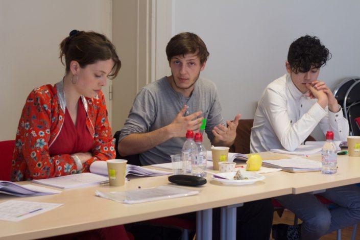 Camille Pech de Laclause, Romuald Thonney et Ignacio Guzman