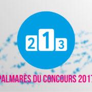 Palmarès du concours 2017