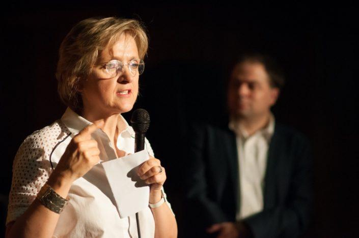 Madame Florence Berthout, Maire du 5è Arrondissement de Paris et Conseillère régionale d'Île-de-France