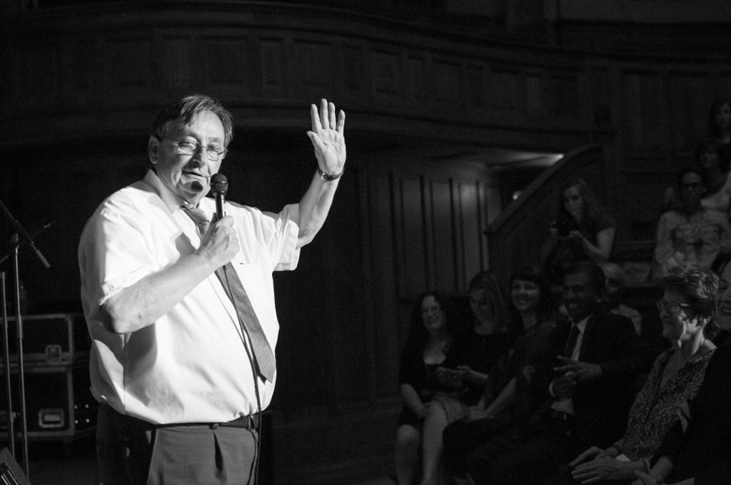 Michel Barat, Recteur honoraire et Président d'honneur de Poésie en liberté