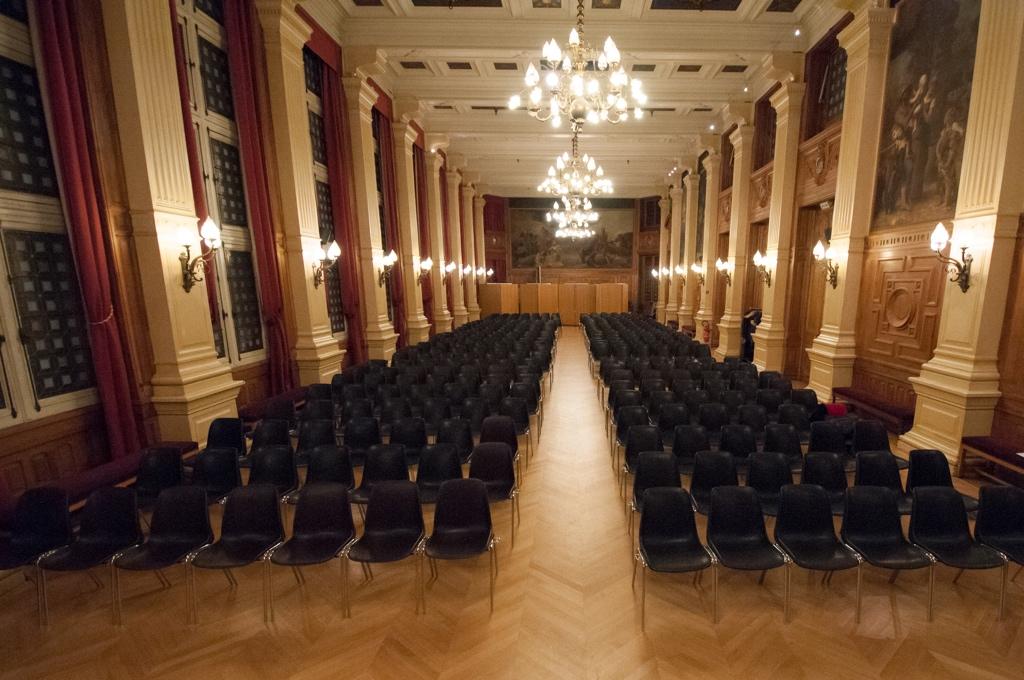 Jeudi 16 novembre 2017, Mairie du 4ème, Salle des Fêtes
