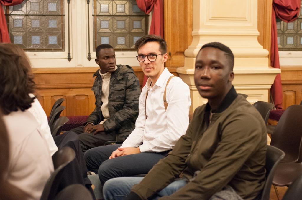 Niklovens Fransaint de Gonaïves (Haïti), Tom Lévêque de Paris et Harold Mensah Attoh du Togo