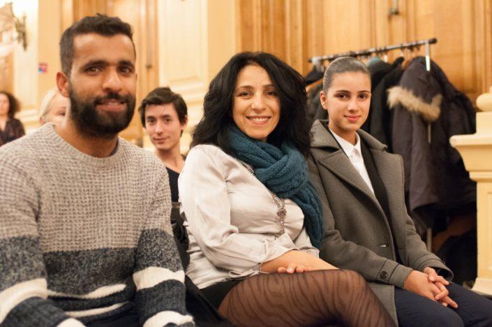 Malika Lahssini et Lina, famille d'accueil