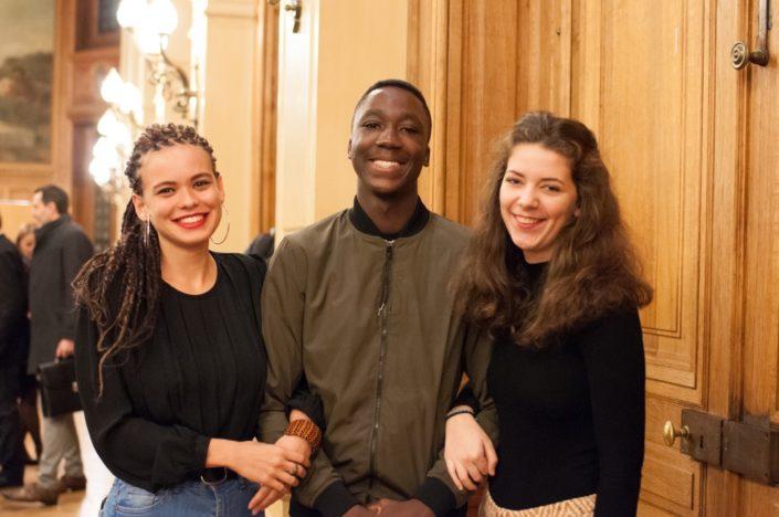 Du Lycée Français de Lomé (Togo) Maeva Lemercier, Harold Mensah Attoh et Marie Lemoine