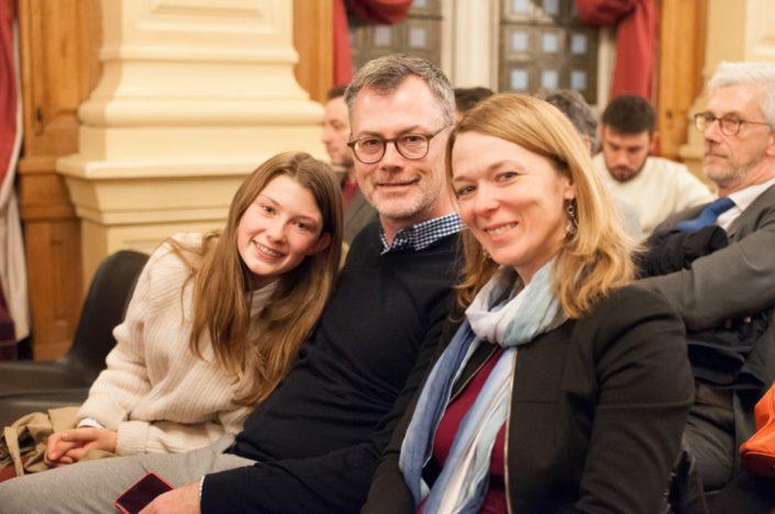 Des canadiens à Paris, la famille Chouinard
