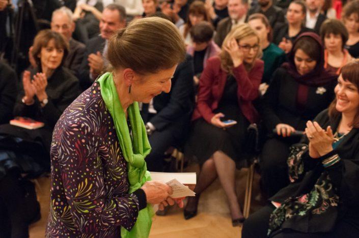 Colette Nys-Mazure, poète, Présidente du Jury 2017