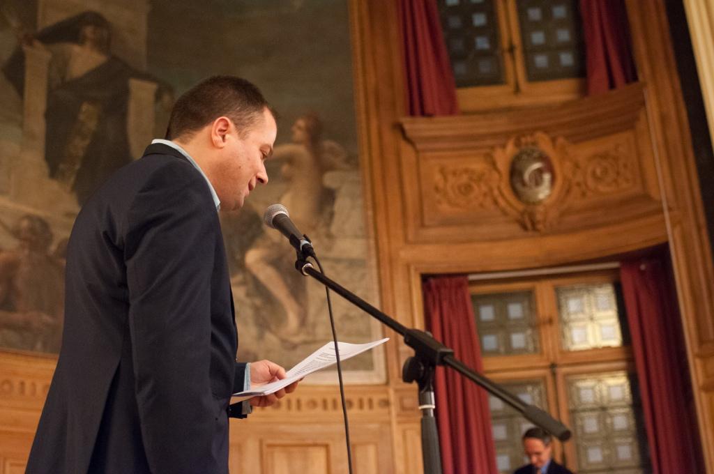 Matthias Vincenot, Maître de cérémonie