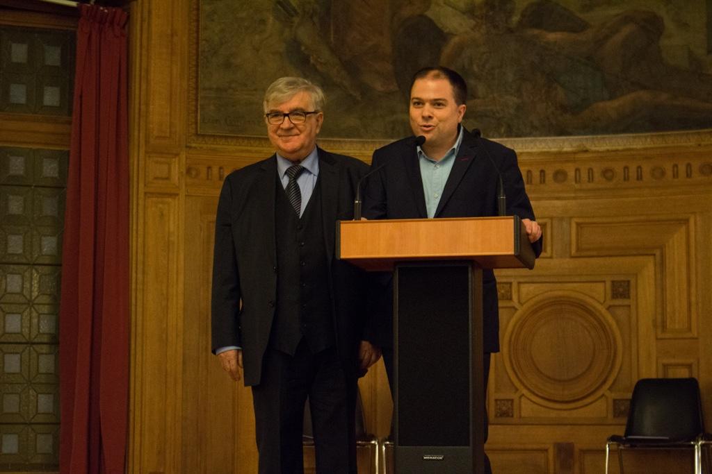 Jean-Marc Muller, Président fondateur et Matthias Vincenot