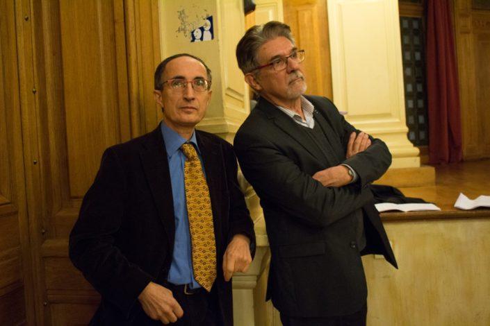 Gilles Tabard, Proviseur honoraire, Vice-Président et Guy Féret, Proviseur honoraire, Trésorier