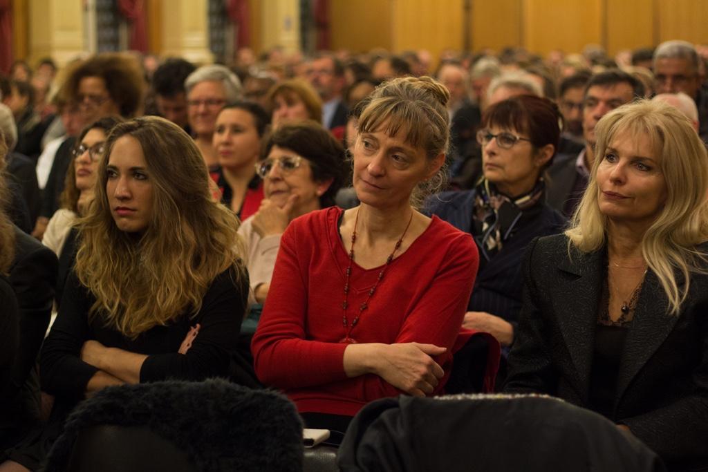 Mélodie Quercron, poète, Marie-Rose Farjon, psychologue et administrateur, Patricia Mazoyer, Inspectrice de l'Enseignement agricole au Ministère de l'agriculture