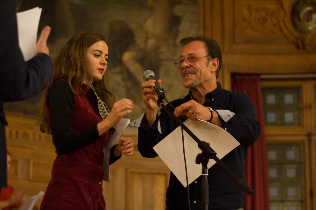 Lou Gala et Antoine Coesens