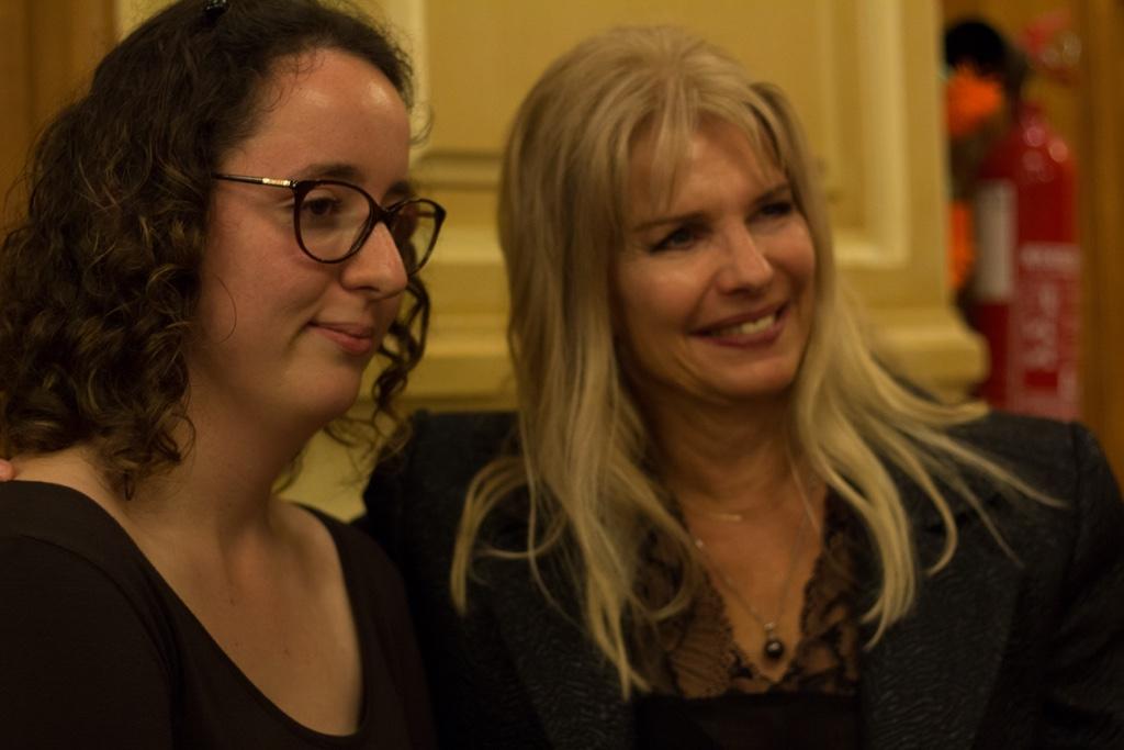 Justine Dorizon, TECOMAH, sélectionnée, avec Patricia Mazoyer du Ministère de l'Agriculture