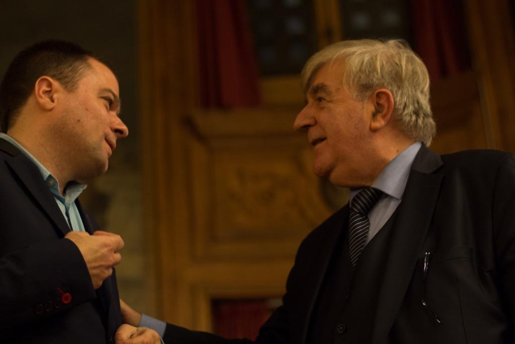Matthias Vincenot et Jean-Marc Muller