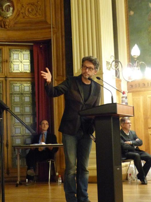 Le comédien Frédéric Gorny