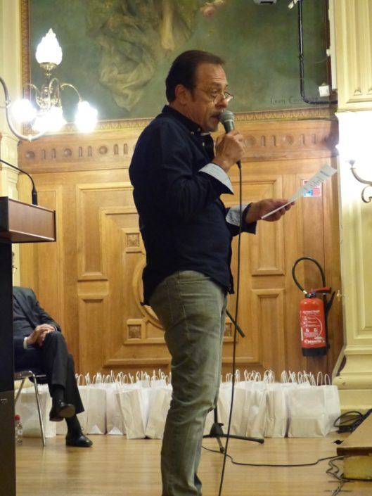 le comédien Antoine Coesens