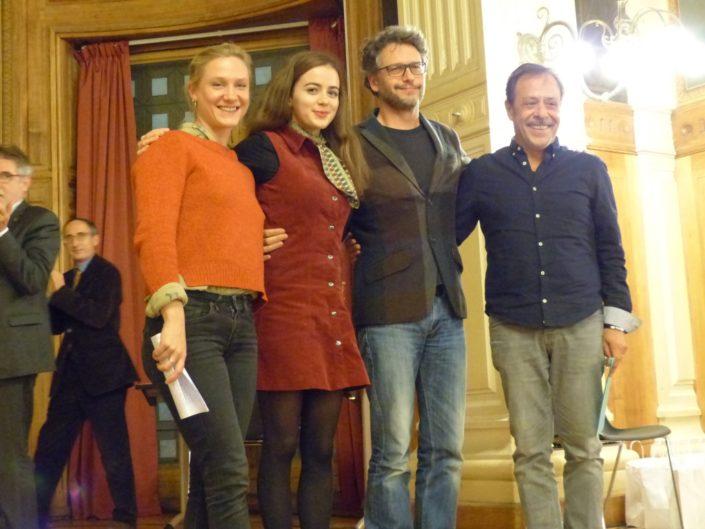 Yeelem Jappain, Lou Gala, Frédéric Gorny, Antoine Coesens