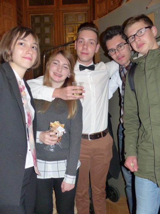 des amis pour la vie, Claire Freidenberger, Chloé François, Thibaud Blandin, Elias Khlif, Hugo Martin