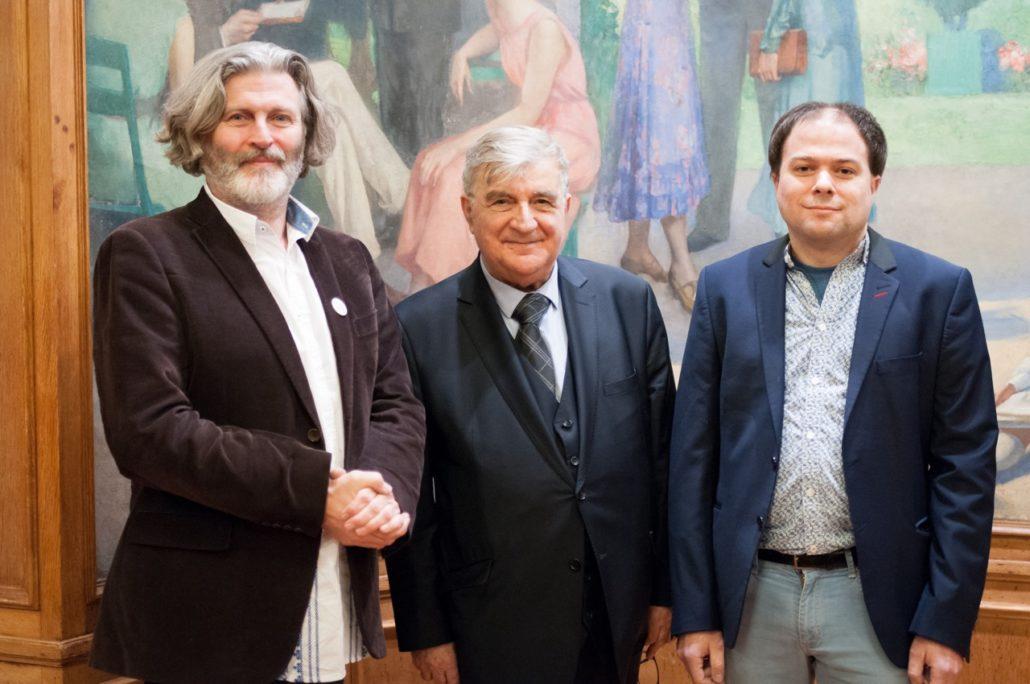 Bruno Doucey, Poète éditeur de poètes aux Editions Bruno Doucey, Jean-Marc Muller et Matthias Vincenot