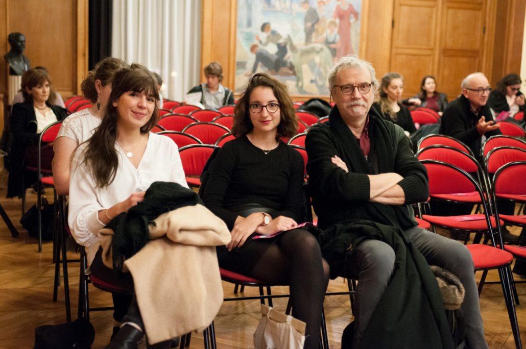 Nos amis des Editions Doucey : Jeanne Munari, Ariane Lefauconnier et Pierre Kobel