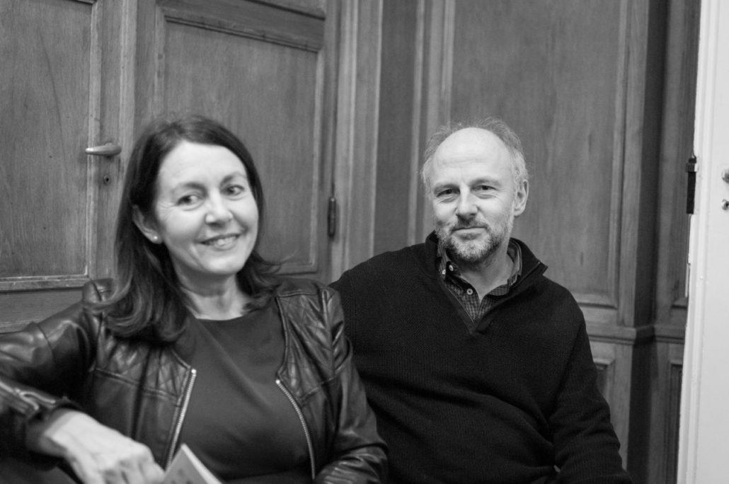 Elisabeth Batier, Membre du Comité de lecture et Etienne Orsini, Président du Jury 2018