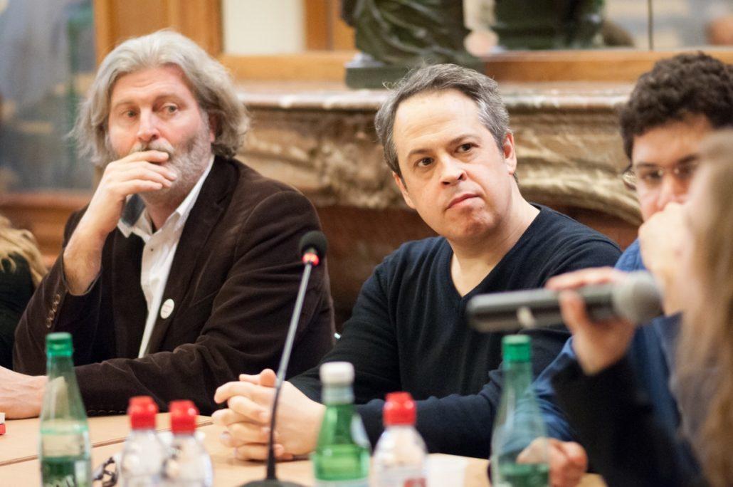 Bruno Doucey et Jean-Luc Despax