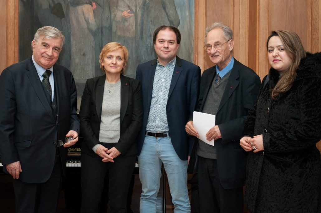 Jean-Marc Muller, Florence Berthout, Matthias Vincenot, Pierre Brunel, Lynda Aït Bachir