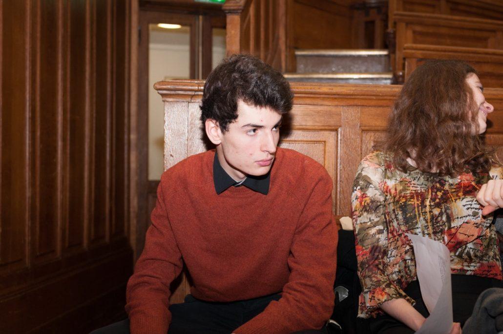 Des jurés de 2014 : Volodia Descalzi et Cassandre Terrier
