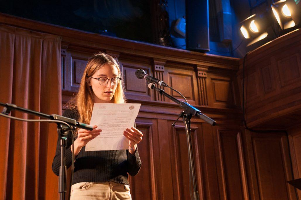 Marie Sondard, lauréate 2015 et jurée 2016