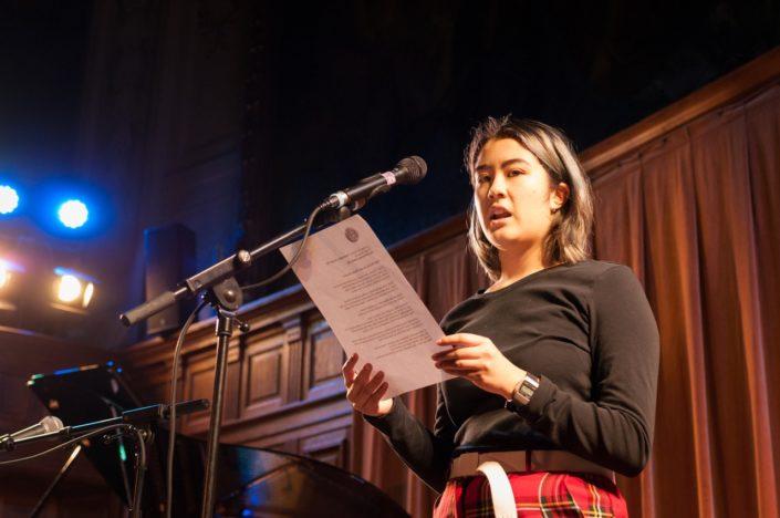 Emy Léou, jurée 2015 et bénévole