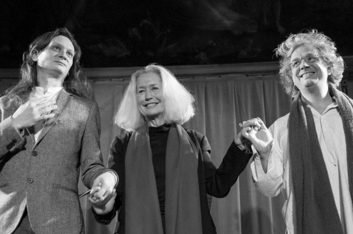 Etienne Champollion, Brigitte Fossey et Pierre Fesquet