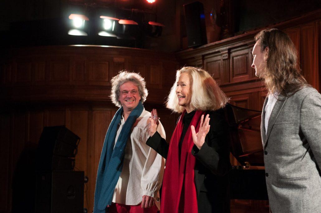 Pierre Fesquet, Brigitte Fossey et Etienne Champollion