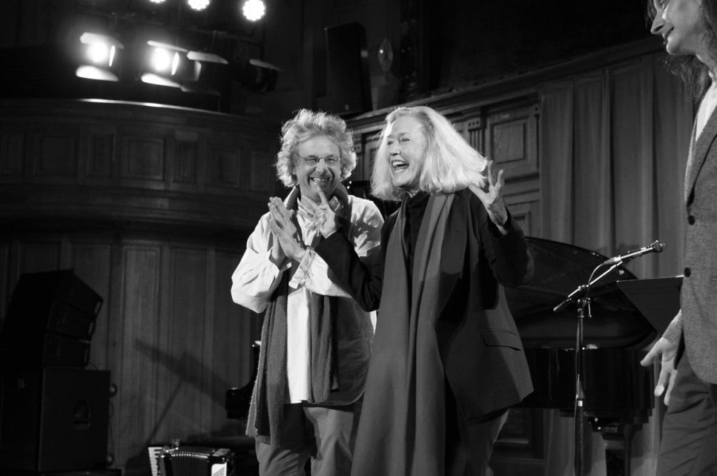 Pierre Fesquet et Brigitte Fossey