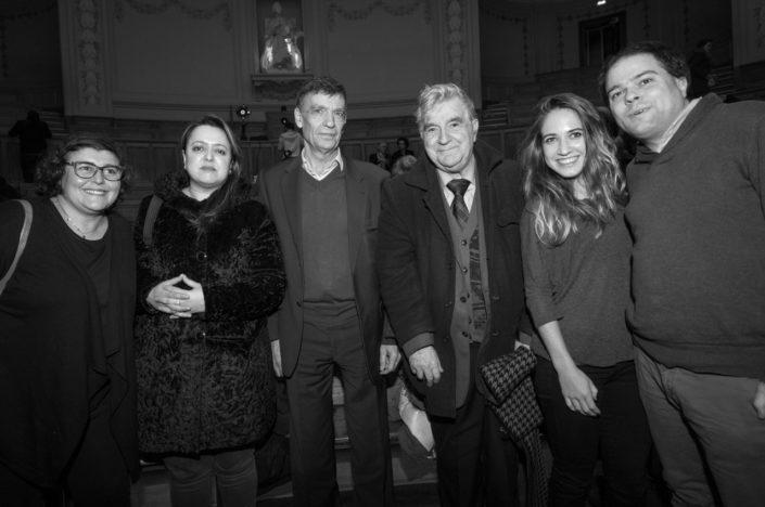 Samira Tayeb-Cherif, Lynda Aït Bachir, Claude Morel, Jean-Marc Muller, Mélodie Quercron et Matthias Vincenot