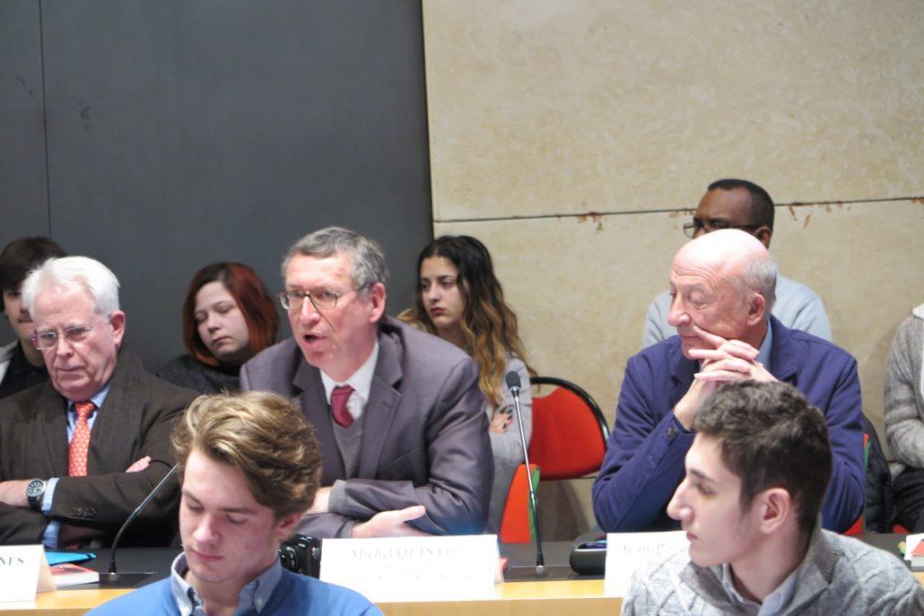 Jean-Paul Vergnes / Michel Quinton, Directeur du groupe scolaire La Salle-Saint Nicolas / Jean-Pierre Fondère