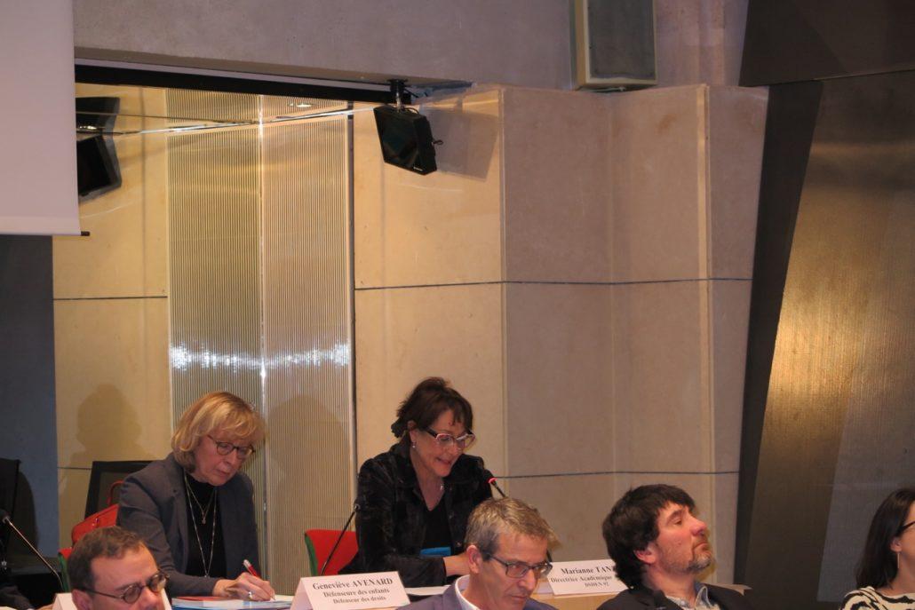 Geneviève Avenard, Mariane Tanzi, Directrice Académique Adjointe DSDEN Hauts de Seine