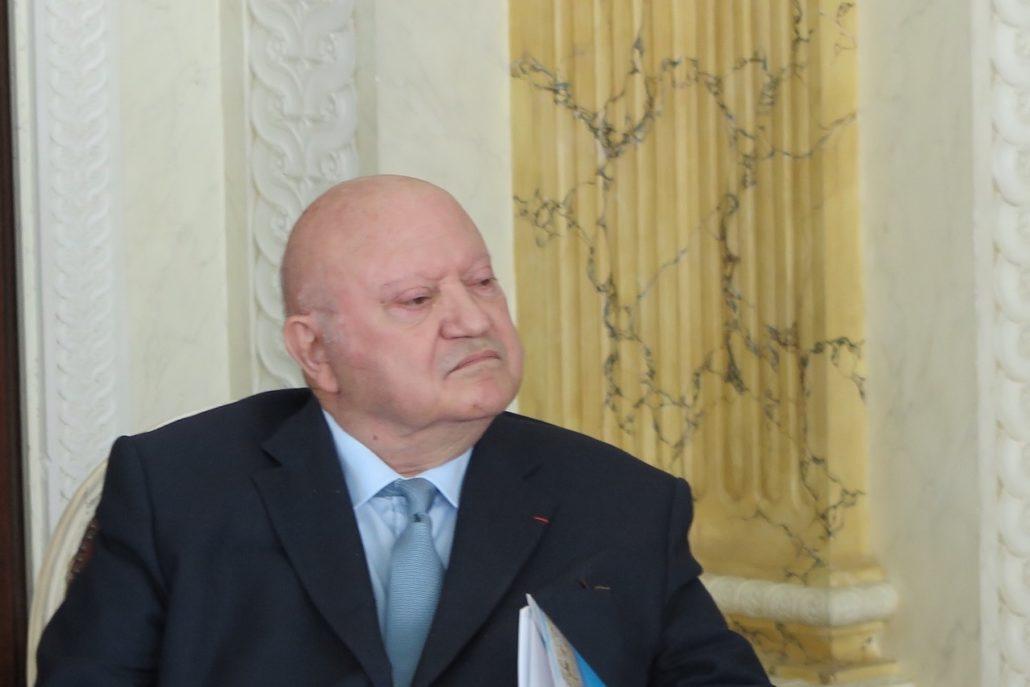 Monsieur André Santini, Maire d'Issy-les-Moulineaux, ancien Ministre, Vice-Président de la Métropole du Grand Paris
