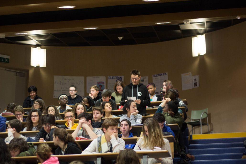 sélection de poèmes de Matthias Vincenot lus par les élèves du Lycée Charles Péguy