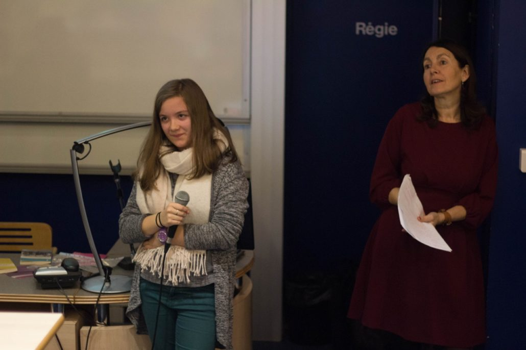 Aurélie Gouvernon, lauréate du concours, témoigne à son tour