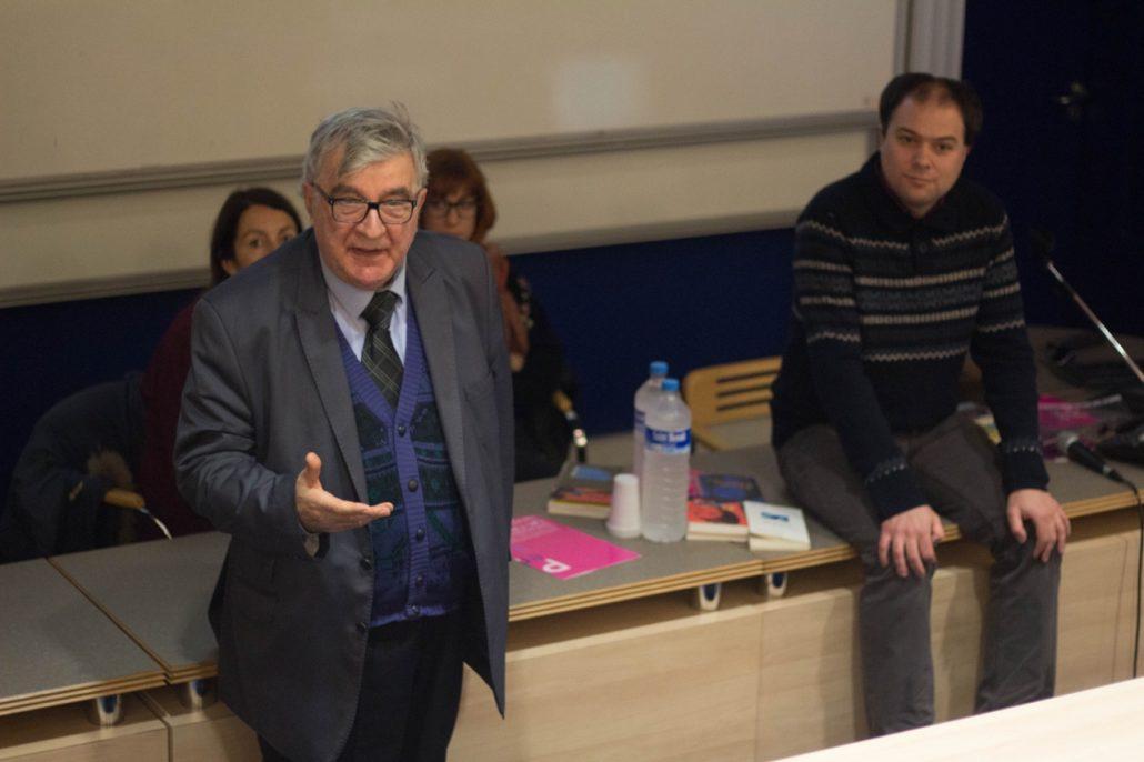 Jean-Marc Muller, Président fondateur, présente le concours Poésie en liberté