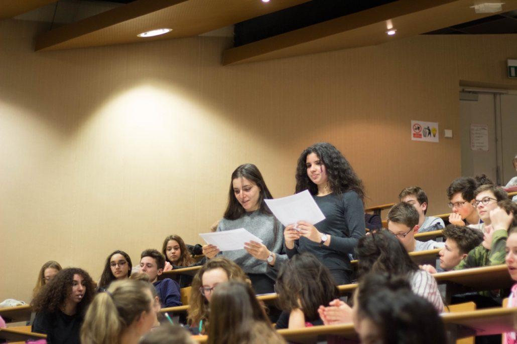 3 classes impliquées pour le lancement du concours.