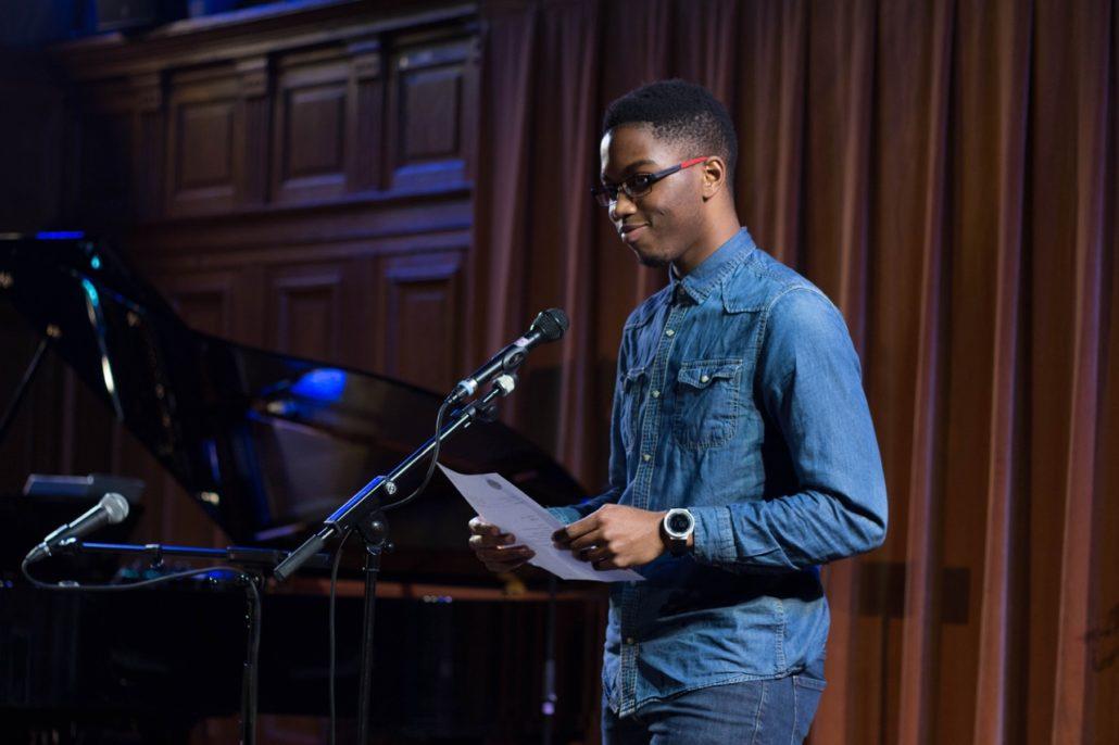 Moïse Abossan, juré du concours en 2016