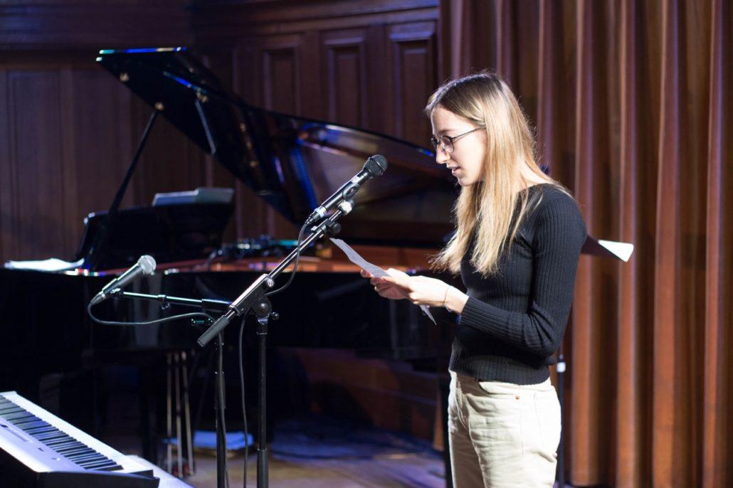 Marie Sondard, lauréate 2015 et jurée du concours 2016