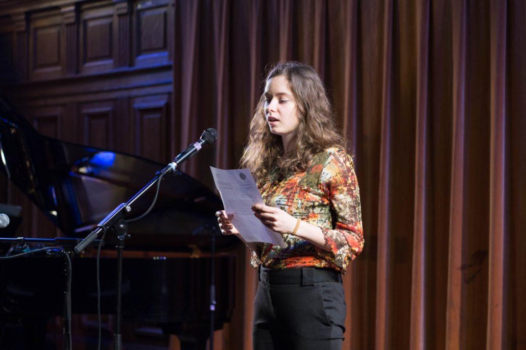 Cassandre Terrier, Jurée du concours 2014