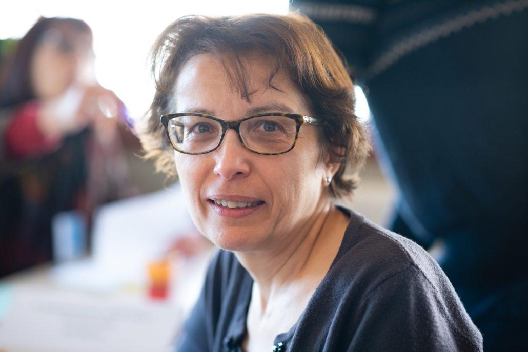 Myriam Mesbah, Responsable Etudes, Trésorier adjoint Poésie en liberté