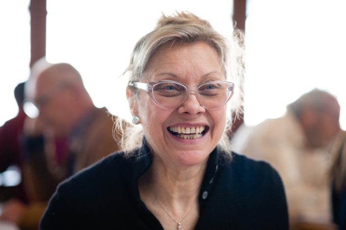 Liliane Tamussin, Rédactrice et traductrice, LA VOCE (revue des Italiens de France)