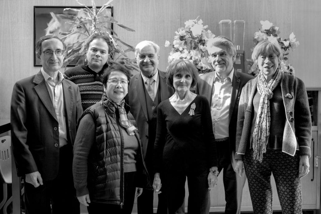 L'équipe, Yen Kuan, Rose Séguignes, Elisabeth Jouhaud, Gilles Tabard, Matthias Vincenot, Jean-Marc Muller et Guy Féret