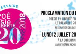Proclamation du palmarès 2018