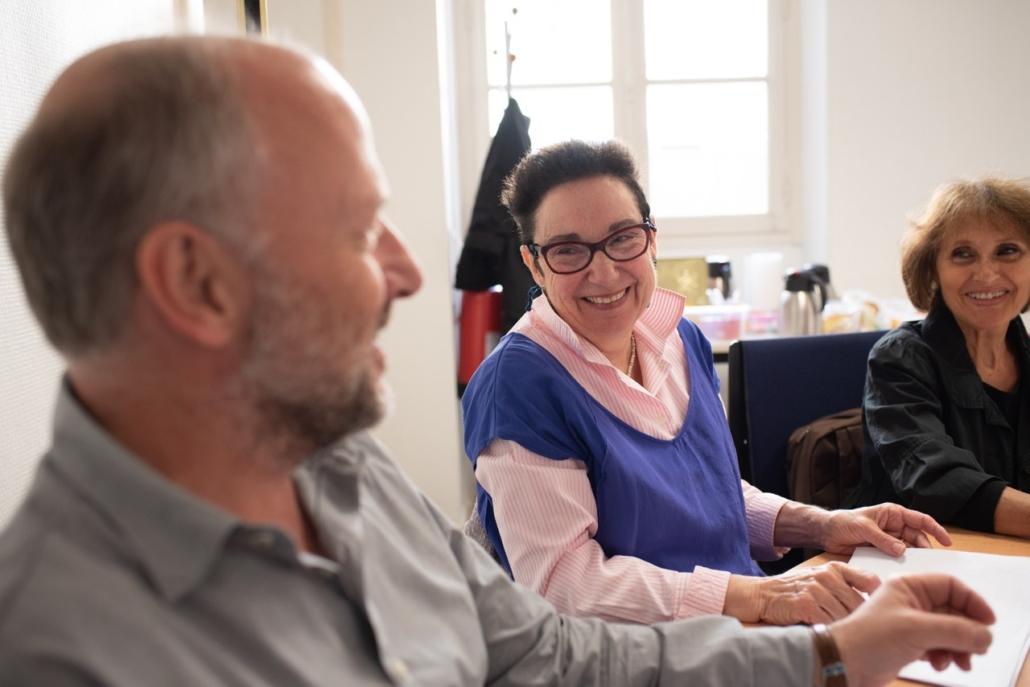 Nicole Simonet, Responsable du Jury avec Etienne Orsini, Président du jury 2018 et Rose Séguignes, Secrétaire générale